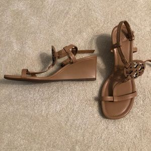 Tory Burch Shoes - Tory Burch Miller Wedge Sandal